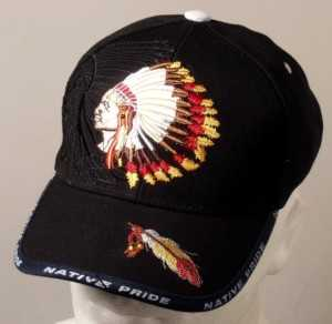 Basecap chief indianer