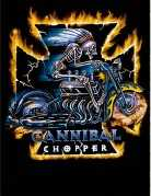 Biker T-Shirt Cannibal Chopper